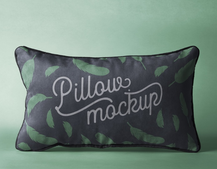 Free Pillow Mockup PSD