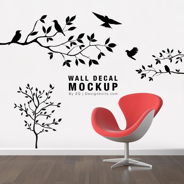 Free-Wall-Decal-Sticker-Mockup-PSD