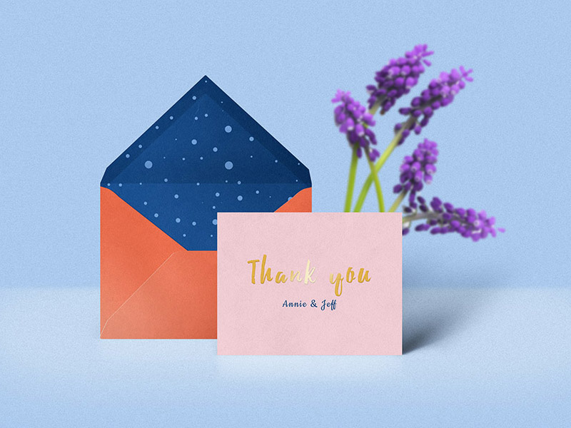 High Quality Envelope Mockup PSD Free