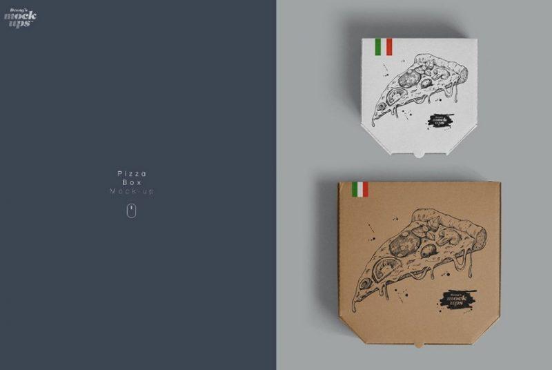 20+ Pizza Box Mockup PSD Free and Premium
