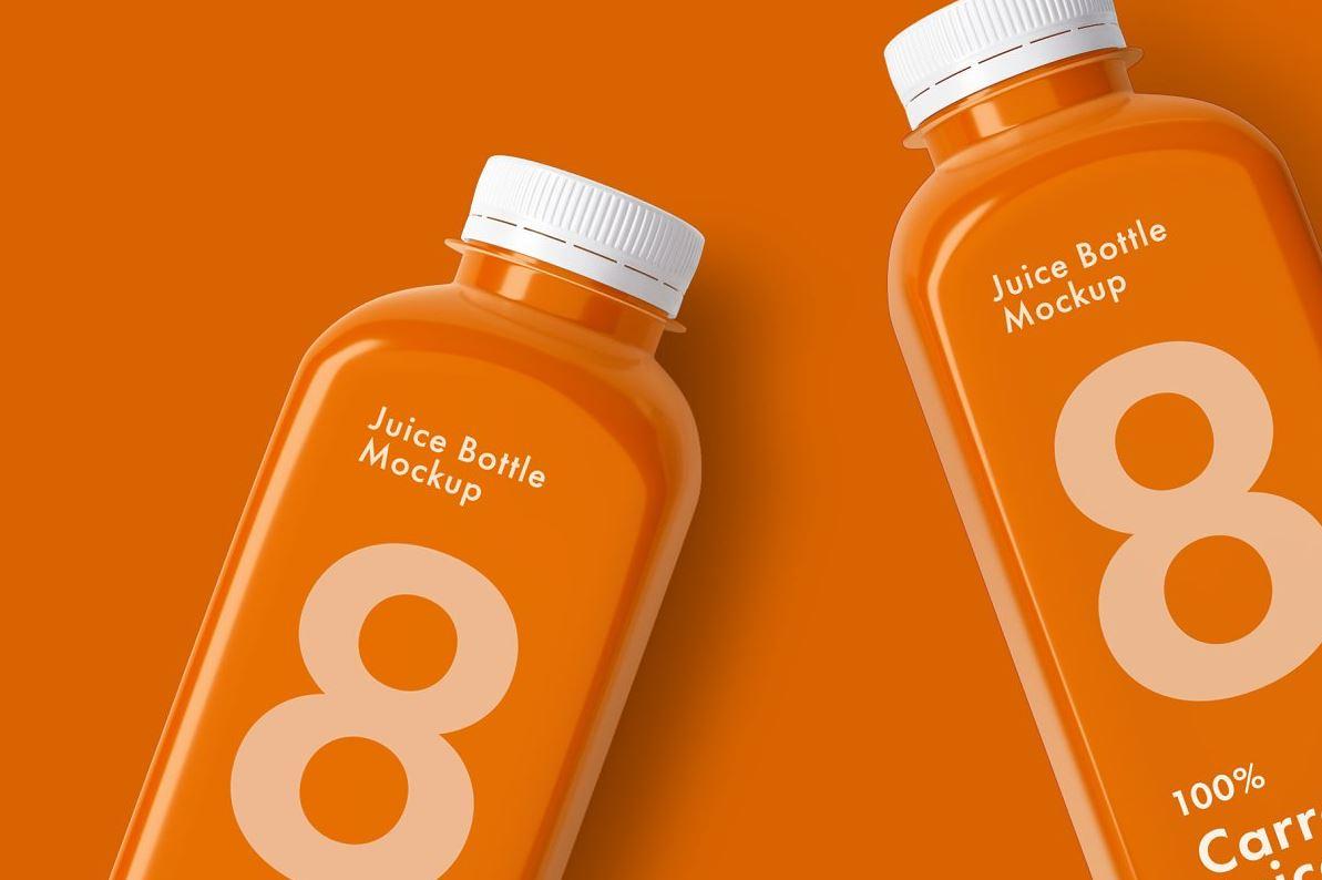 Juice-Bottle-Mockup-Set