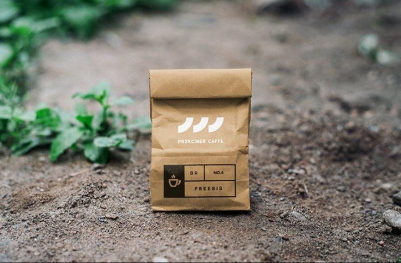 Kraft Paper Coffee Branding Mockup