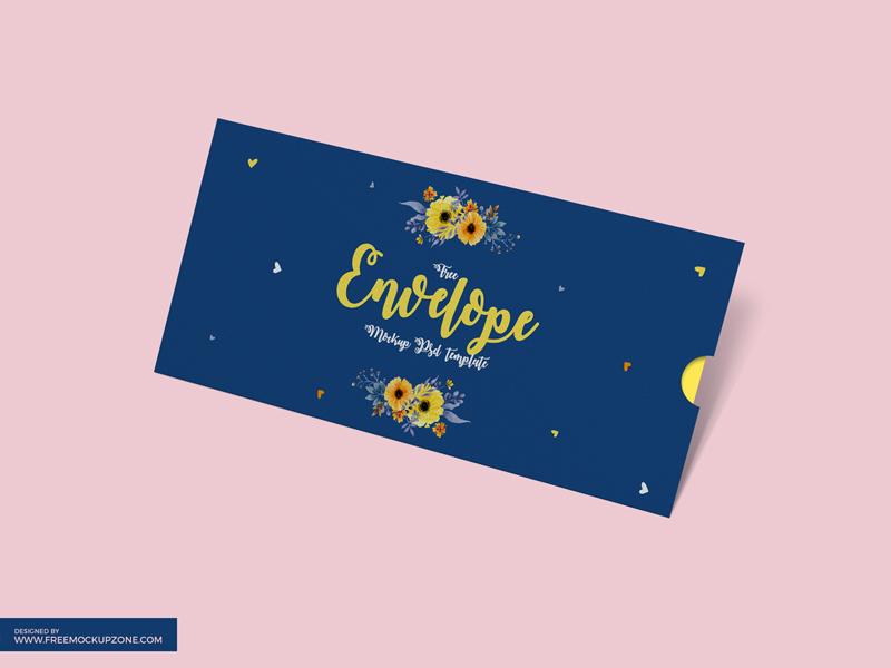 Layered Envelope Mockup PSD