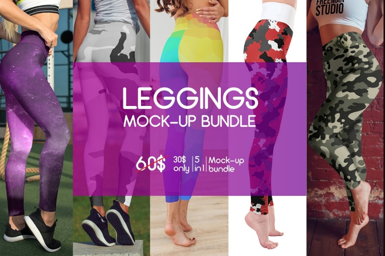 Leggings Mockup Bundle