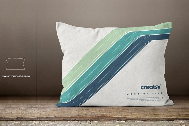 Multiple Sizes Pillow Mockup PSD