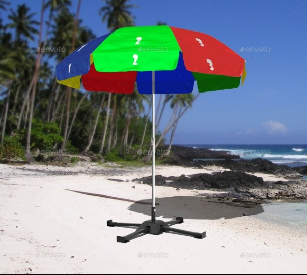 Outdoor Umbrella Mockup