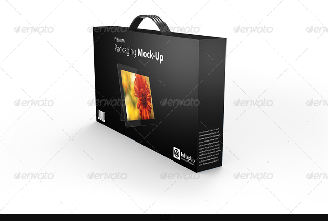Packaging Mockup PSD