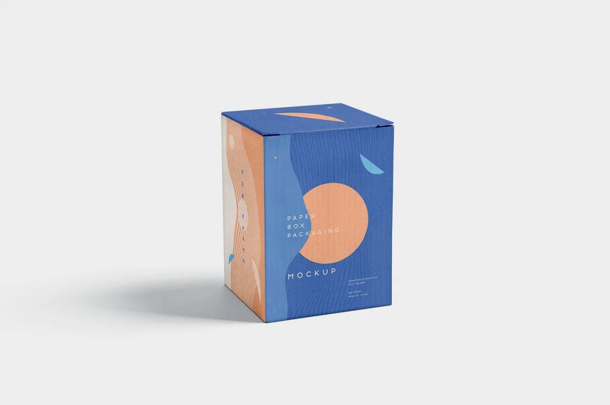 Paper Box Packaging Mockups