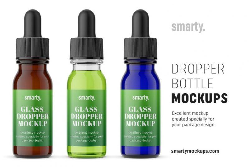Pharmacy Dropper Bottle Mockup