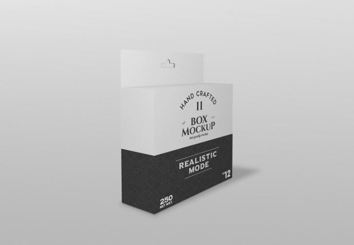 Photorealistic Branding Box Mockup