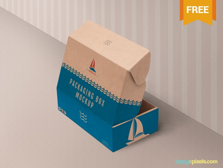 Product Box Packaging Mockup