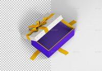 Rectangle Gift Box Packaging Mockup