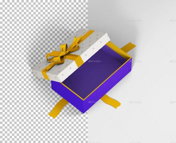 52+ Free Rectangle Box Mockup PSD Presentation