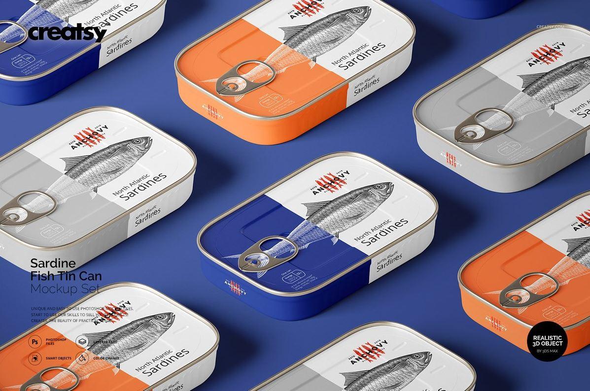 Sardine-Fish-Tin-Can-Mockup-Set