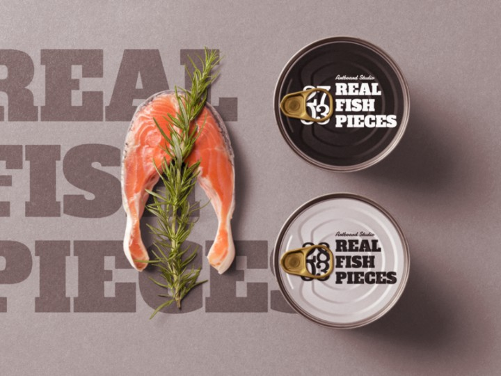 Seafood Packaging Mockup