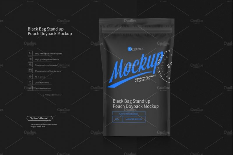 50+ Free Food Packaging Mockup PSD for Branding