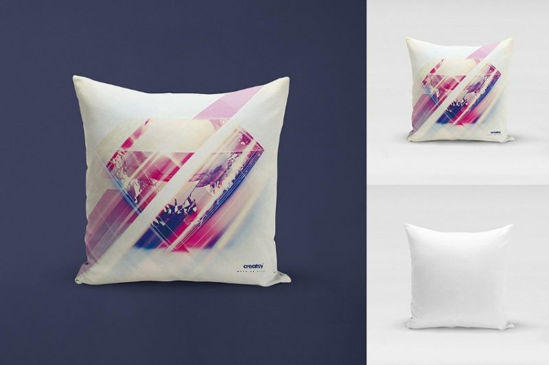 Throw Pillow Mockup PSD