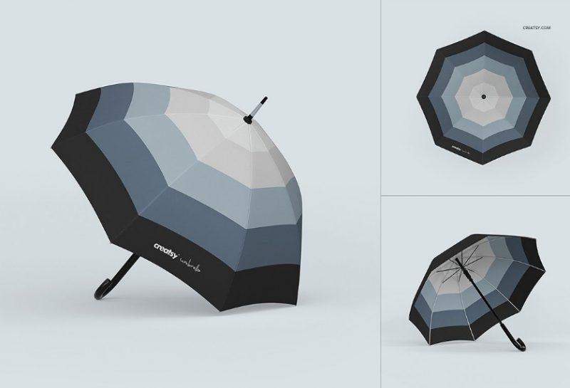 Umbrella Mockup PSD