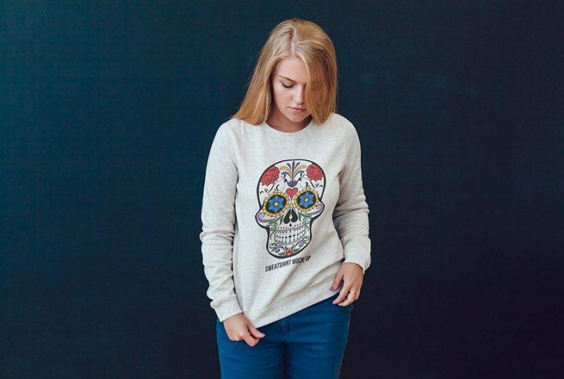 10 Sweatshirt Mockup PSD Templates