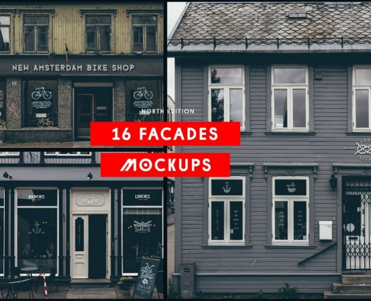 21+ Facade Mockup PSD Free and Premium Download
