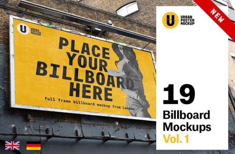 19 Billboards Mockup Bundle