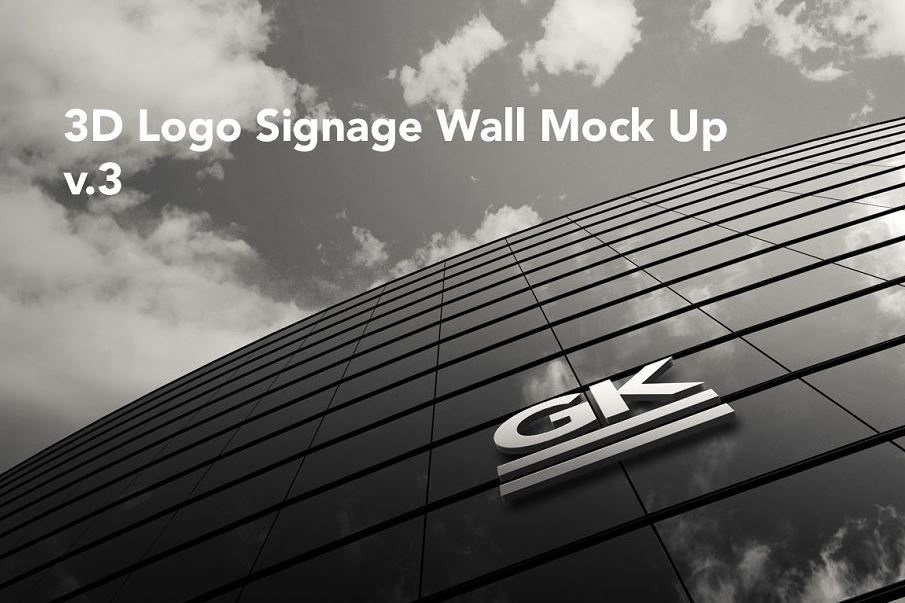 3D-Logo-Signage-Wall-Mock-Up- v.3