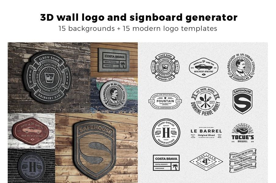 3D-signboard-logo-mock