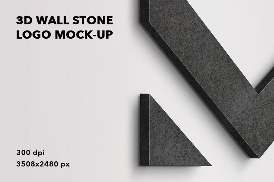 3D-wall-stone-logo-mock-up