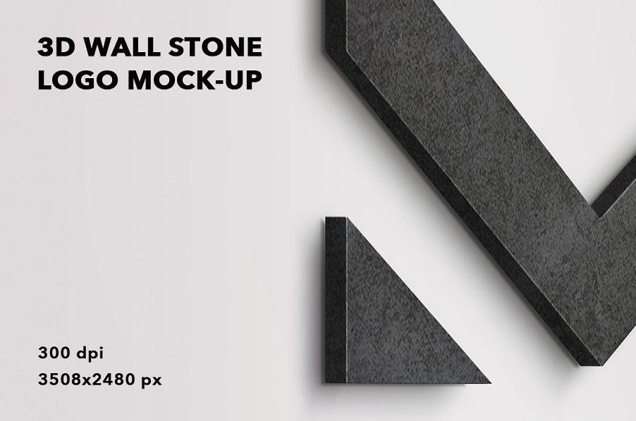 3D-wall-stone-logo-mock-up