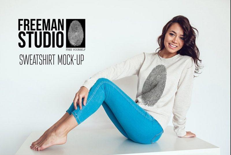 Changeable Sweatshirt Mockup PSD