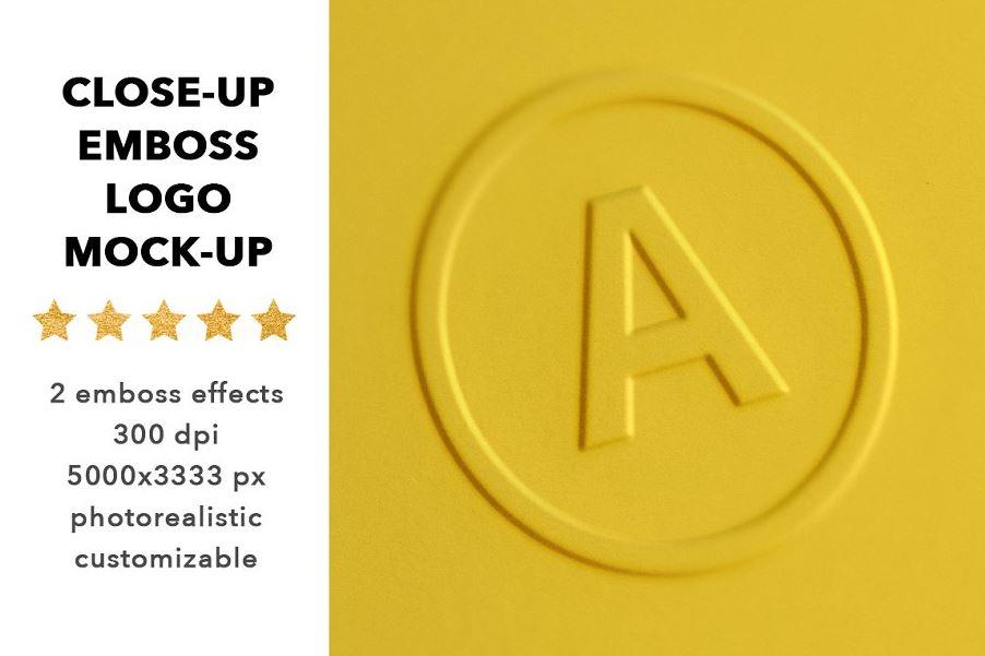 Close-up-logo-mock-up