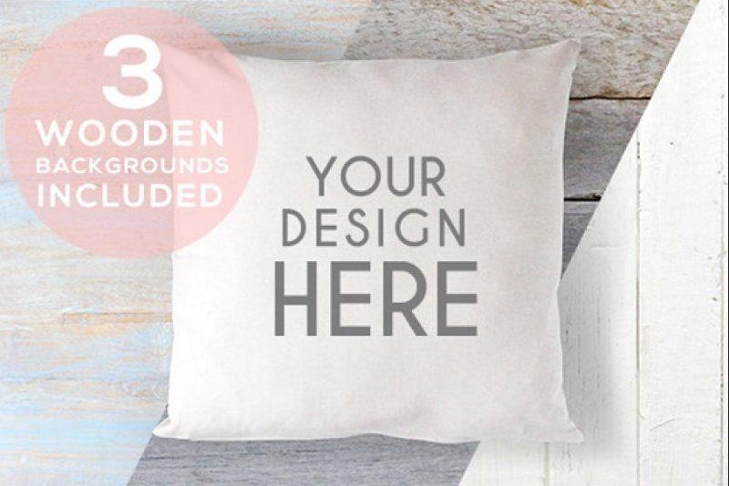 Editable Cushion Mockup PSD