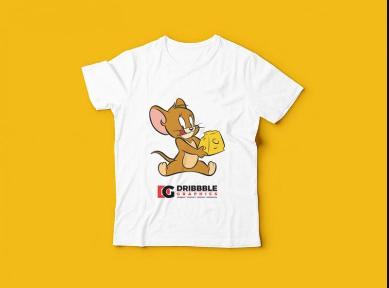 Editable Free Kids T Shirt Mockup