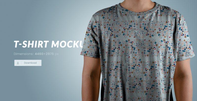 Editable Free T Shirt Mockup PSD