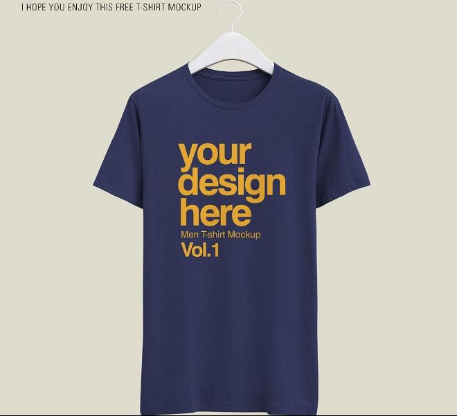 Editable T Shirt Mockup PSD