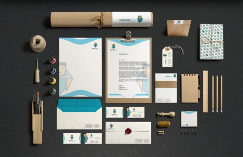 Essential Stationary Branding Mockup PSD