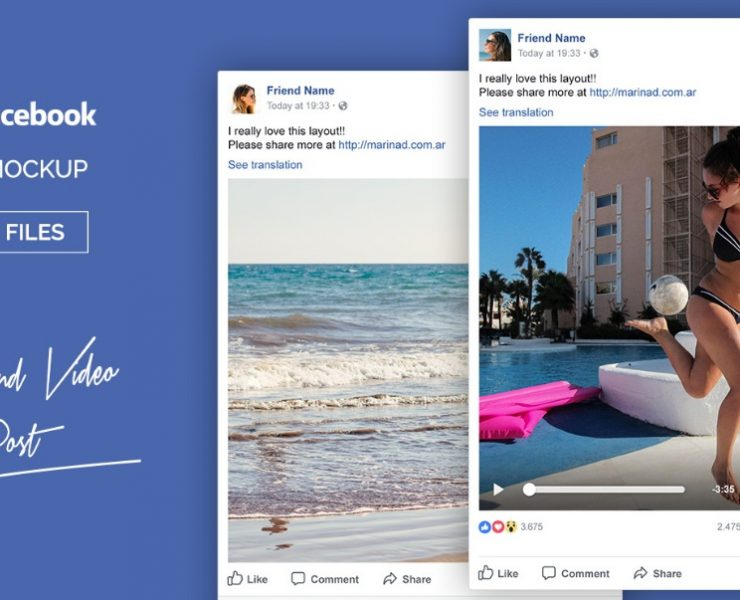 15+ Facebook Mockup PSD Free for Ad Presentations