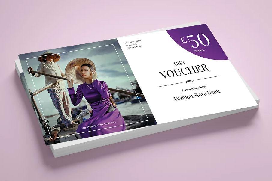 Fashion Gift Voucher 3