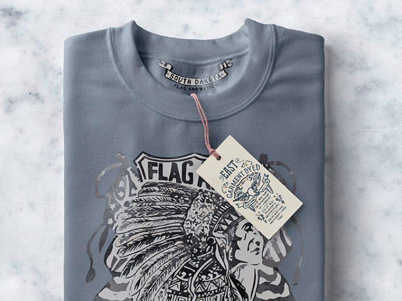 Folded Sweatshirt Mockup PSD Free