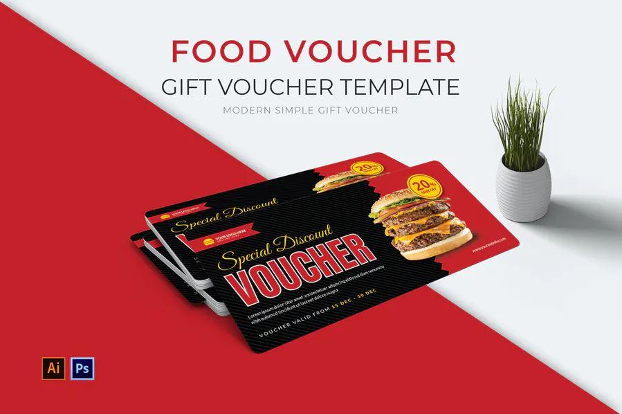 Food Voucher Gift Voucher