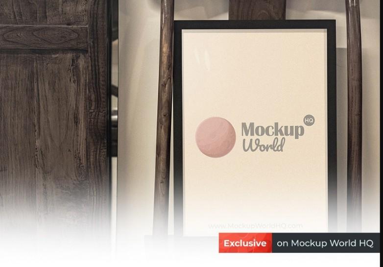 Frame Poster Mockup PSD Free Download