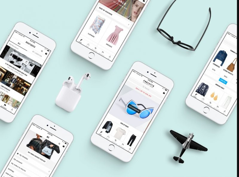 Free App Screen Mockup PSD