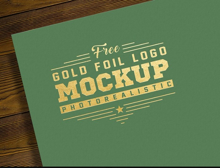 7 Gold Logo Mockup Psd Free Download Graphic Cloud