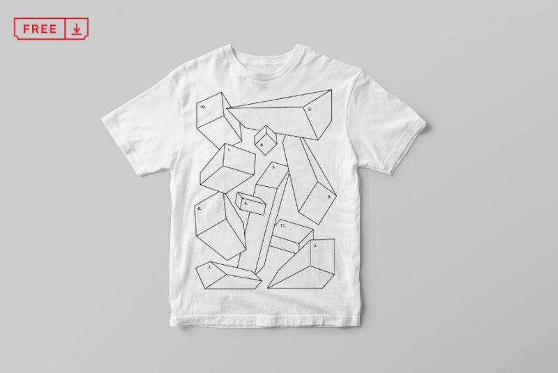 Free Kids T Shirt Mockup