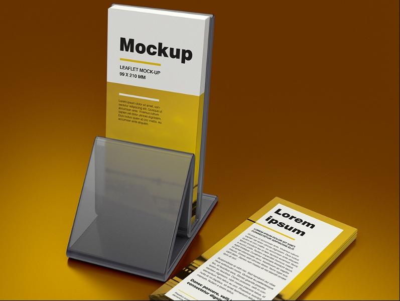 Free Leaflet Mockup PSD