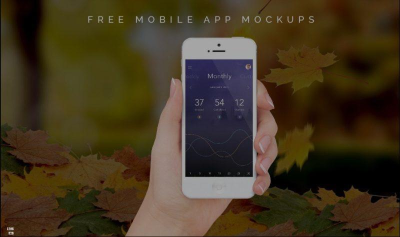 Free Mobile App Mockups