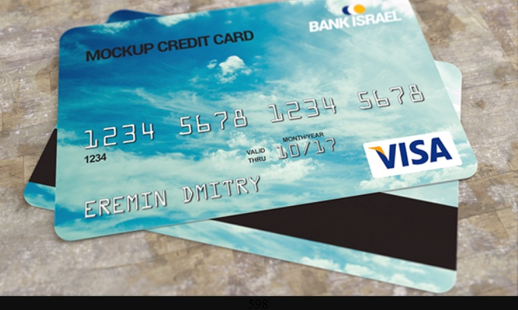 11 Realistic Credit Card Mockup Psd Free Download Graphic Cloud