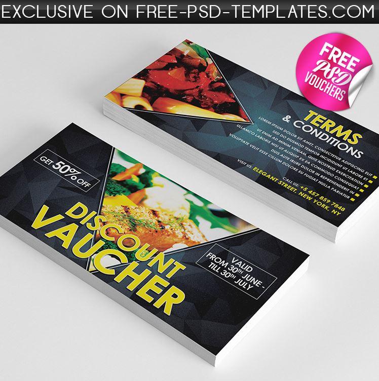 Free PSD Gift Voucher Bundle