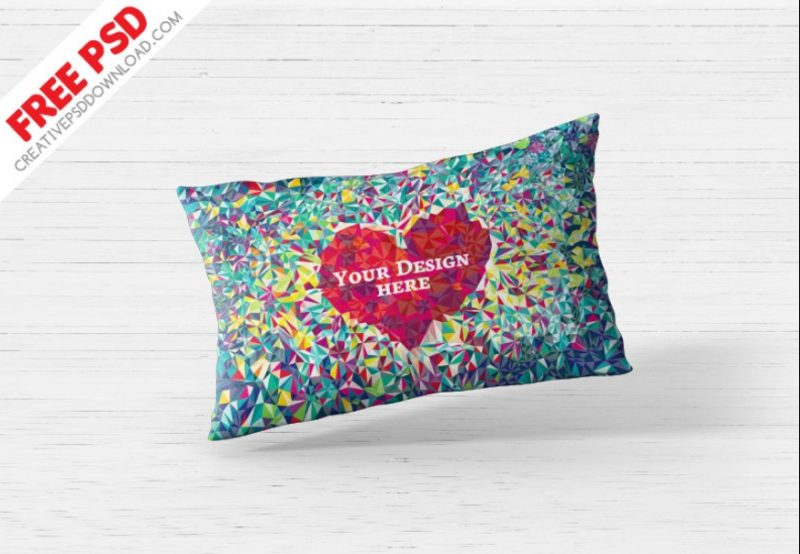 Free Pillow Cover Mockup