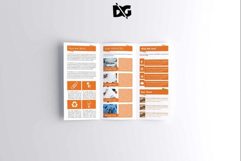 Free Professional Brochure Mockup PSD